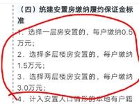爆料:霍邱县政府拆迁政策。看下老百姓有几个同意的。以下载图! ?