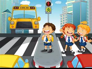家�L要�r刻提醒孩子要注意交通安全,�r刻遵守交通��t,提高自己的自我防�o能力。