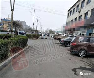 在金鸡大街和部分街道有些车辆长时间占用非...