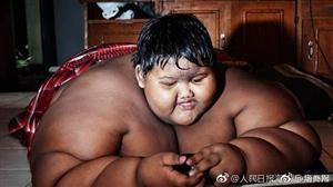 世界上最胖少年励志减肥成功