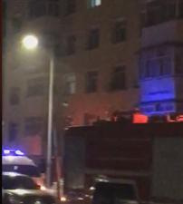 昨晚WE彩票登录南市场小区煤气爆炸起火!太可怕了!