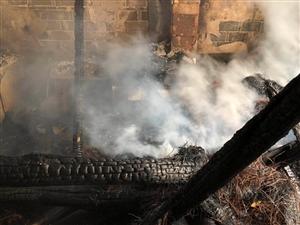 昨天镇桥有一家着火