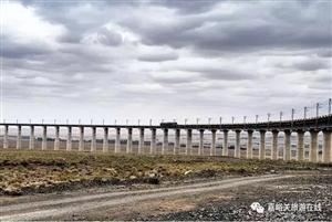 9月底,敦格铁路(甘肃段)即将开通运营