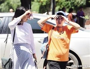 陕西昨77个县区最高温超30℃!西安今日最高温35℃