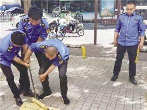 商家私占公共停车位?滨州开始集中整治!