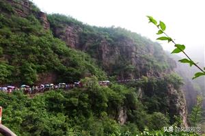 探访河南云台山:奇妙红石峡处处龙塘飞瀑,游人成蛇形窥见一线天