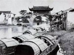 一组民国时期的苏州老照片:很多现在已经看不到了,图三是水城门