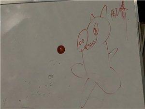 女儿画的猪溜溜~