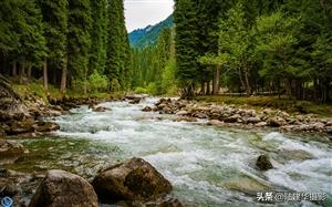 新疆琼库什台村,那里的自然风光美得无法形容