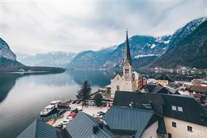 奥地利的乡村风景,仿佛身在童话世界!!