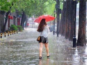 5日夜里到6日白天我市有次强降雨过程
