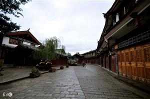 云南丽江古城美景