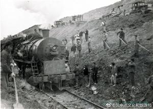 一组老照片,带你回顾阳安铁路汉中段修建的艰苦条件