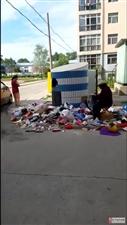 �R�R哈��垃圾�M屋老太太又把清理的垃圾�旎厝チ耍∥业奶彀。�