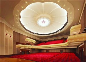 """齐齐哈尔""""穹顶""""华丽多姿全新大剧院将呈现"""