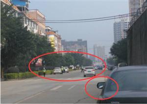 @融安车主 交警查处违规停车,你的车有没有在这条路?