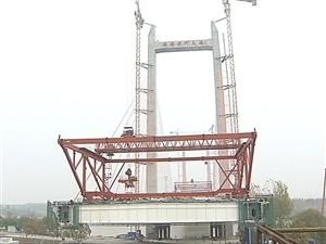 济齐黄河大桥年底前实现主桥合拢