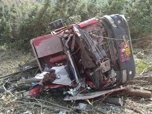 今日融安泗顶方向12公里处发生车祸!
