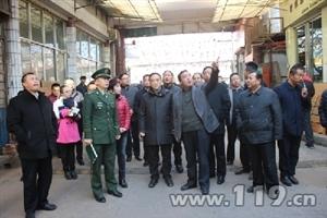 临夏州委常委市委书记率队开展消防安全检查