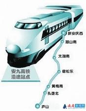 国家发改委正式批复可行性研究报告 安九高铁即将动工开建