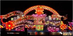 今年春节南溪开展系列文化活动:庙会、民间文化、电影放映^