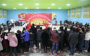 今晚在齐洽村委会成功举办无极县2017新春舞林大会!