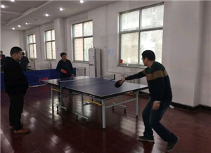 无极县人民检察院举办兵乓球联赛