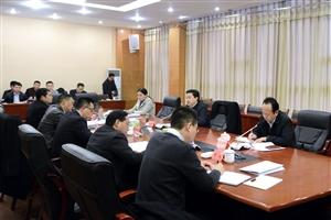 市长罗增斌指导岳池县委常委班子2016年度民主生活会