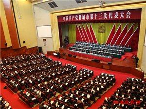 何宪卓率团参加中国共产党聊城市第十三次代表大会