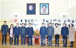侯晓春罗增斌等代表家乡人民赴京参加邓小平同志逝世20周年缅怀活动