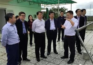 科技部副部长黄卫到海南儋州调研