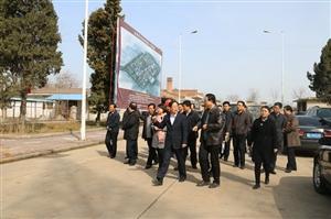 咸阳:武功县领导检查后稷养生养老康复中心重点项目建设进度
