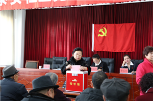 甘州区南街社区党总支换届选举工作圆满完成