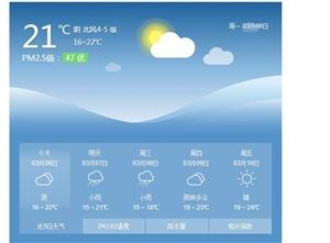 北海近日受弱冷空气影响
