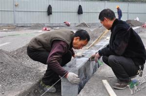漯河嵩山路建分流岛预计月底恢复通行