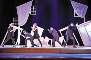 宝安本土剧团原创话剧登上了国家话剧院舞台