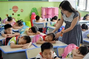 启动在校托管服务 缓解学生家长困难