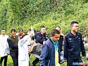 什邡一男子采药掉入10米深井 多方合力2小时成功救出