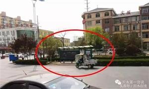 沂水东环路原来有个公交站牌,这车来了之后,就没了