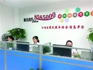 """江阳区""""8585000""""便民服务平台试运行"""