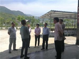 """湖北省发展战略规划办副主任徐新桥来梅调研""""两型""""项目建设"""