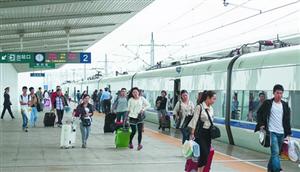 高铁长兴站端午小长假新增两列临时列车