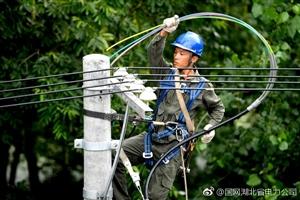 汉川庙头金家台村今夏可以开空调了