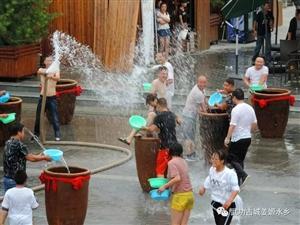 周末游必选之处-姜��水乡泼水节、沙滩浴场、江南风情