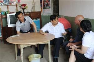 荆门市委书记、市人大常委会主任别必雄 到钟祥市开展约访下访
