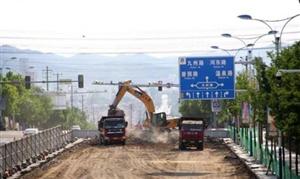 四条道路同时进行提升改造 城区道路面貌将焕然一新