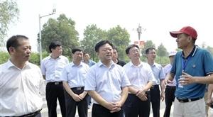 陈星深入市中心城区调研工业经济运行