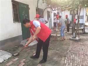 """濮阳市人民办开展""""清街洗城""""志愿服务活动"""