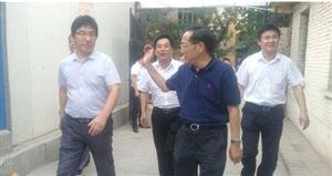 省供销合作总社副主任武静元一行在永寿调研