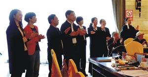 """我市召开离休干部和县处级老领导""""九・九""""敬老节座谈会"""
